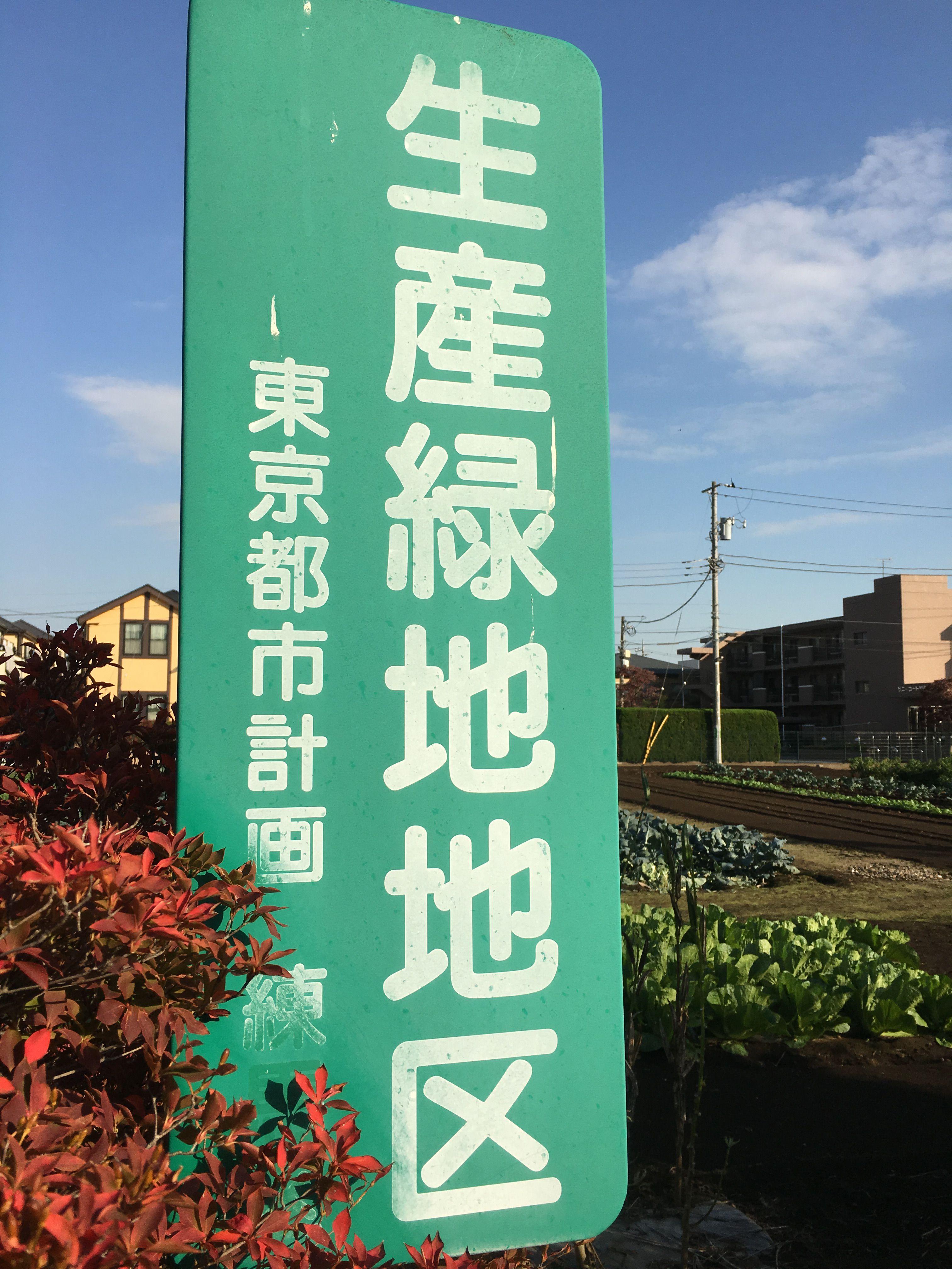 練馬区の生産緑地を相続しました。